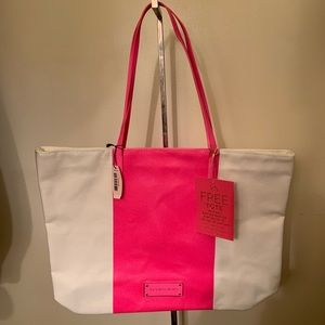 Victoria's Secret Shopper Beach Travel Tote Bag
